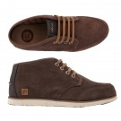 Cobian Mens Shoes High Tied Chocolate