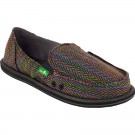 Sanuk Womens Sidewalk Surfer Rio Rainbow